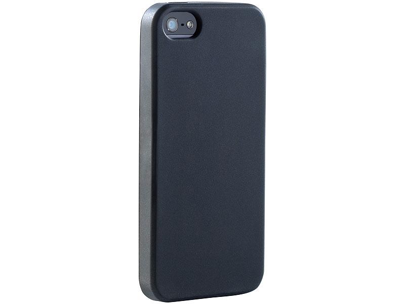 xcase silikon schutzh lle f r iphone 5 5s se schwarz. Black Bedroom Furniture Sets. Home Design Ideas