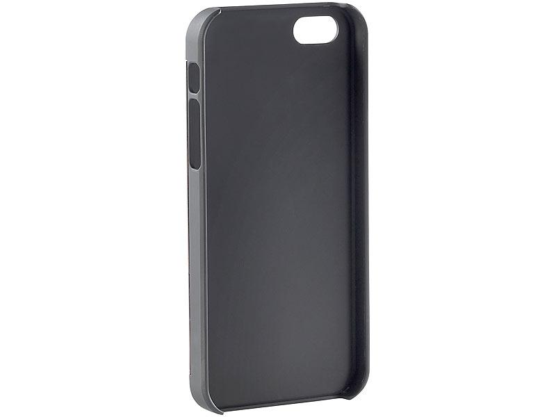 xcase iphone se case schutzh lle mit echtholz r ckseite. Black Bedroom Furniture Sets. Home Design Ideas