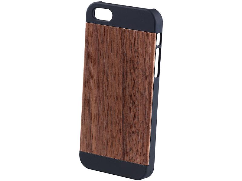 xcase iphone schutzschale schutzh lle mit echtholz. Black Bedroom Furniture Sets. Home Design Ideas