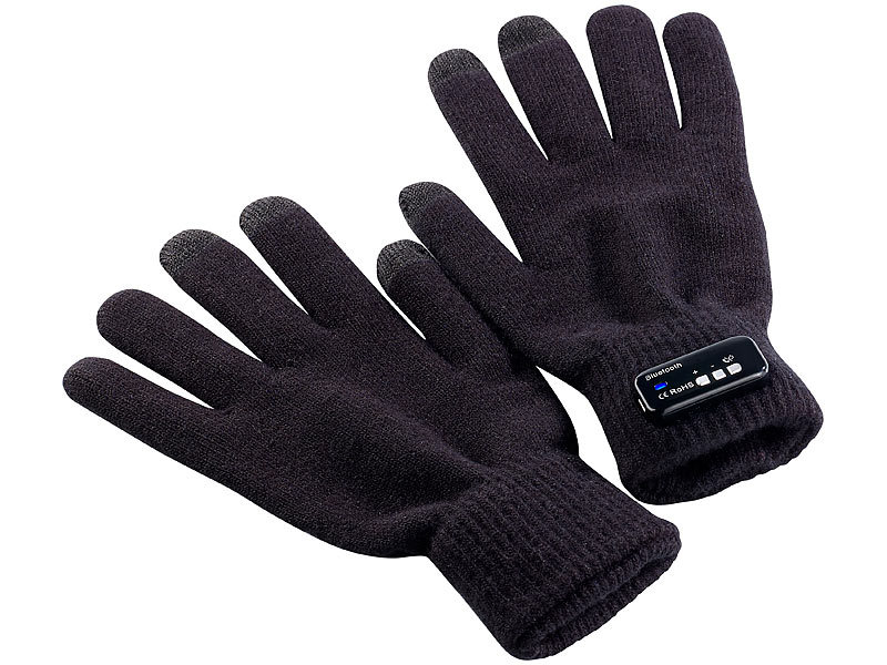 callstel telefonhandschuh freisprech handschuh polyester mit bluetooth 1 paar in herrengr e. Black Bedroom Furniture Sets. Home Design Ideas