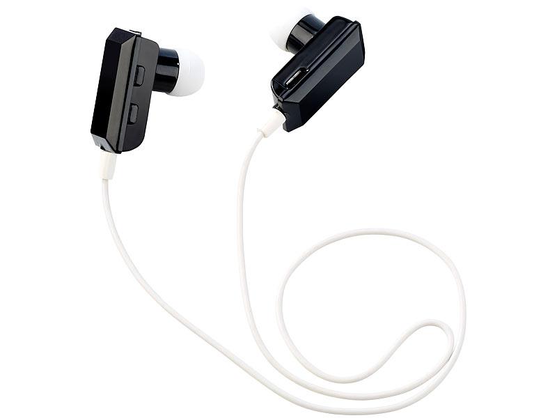 callstel kopfh rer bluetooth in ear stereo headset mit. Black Bedroom Furniture Sets. Home Design Ideas