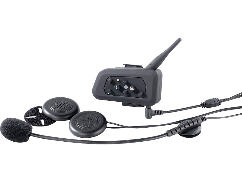 callstel helm headset motorrad intercom headset mit. Black Bedroom Furniture Sets. Home Design Ideas