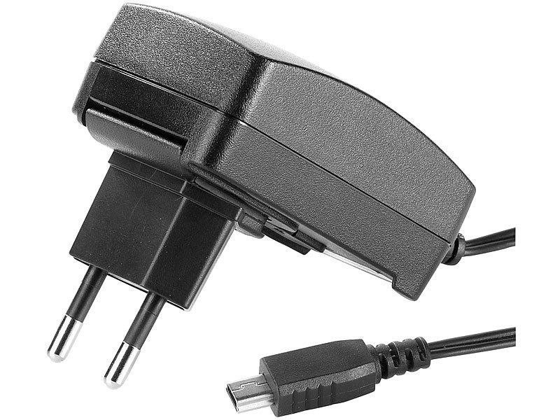 Reiseladegerät mit Mini-USB Anschluss