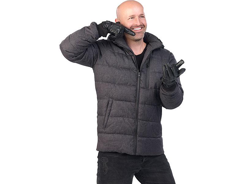 Strick-Handschuhe mit 5 Touchscreen-Fingerkuppen Gr Touchpen-Handschuh XL