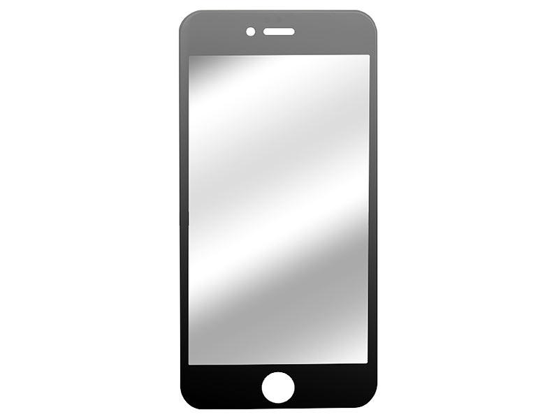 Somikon Displayschutz iPhone 6s: Randlos Displayschutz-Cover iPhone ...