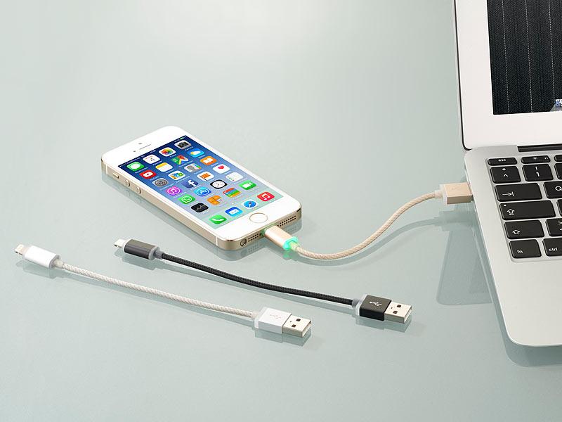 callstel led ladekabel ab iphone 5 schw apple. Black Bedroom Furniture Sets. Home Design Ideas