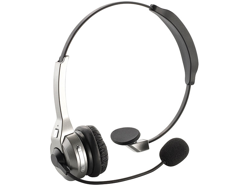 Profi-Mono-Headset mit Bluetooth, NFC & Noise-Cancelling