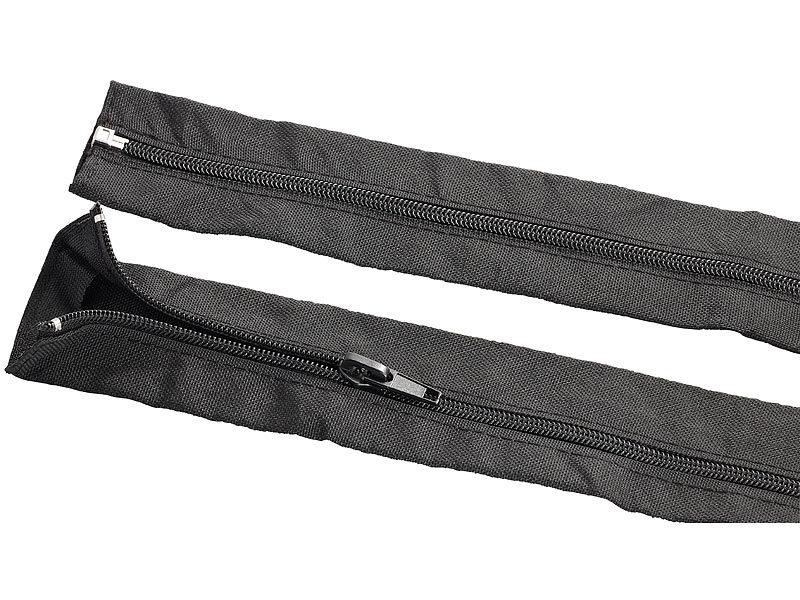Callstel Kabelkanäle: Kabelschlauch mit Reißverschluss, 1 m ...