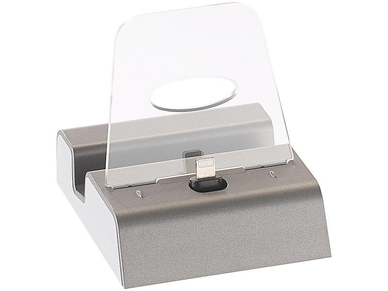 callstel docking station f r iphone ipad mini ipod apple zertifiziert mfi. Black Bedroom Furniture Sets. Home Design Ideas