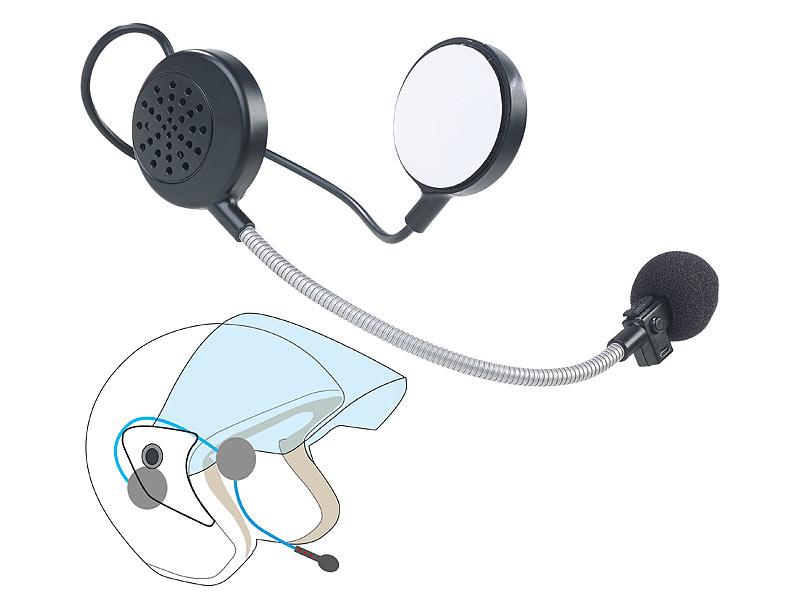 callstel helmlautsprecher intercom stereo headset f r motorrad helm bluetooth 10 m reichweite. Black Bedroom Furniture Sets. Home Design Ideas