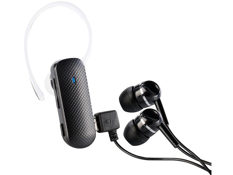 callstel stereo headset xh 300 mit bluetooth 3 0 f r musik telefonate. Black Bedroom Furniture Sets. Home Design Ideas
