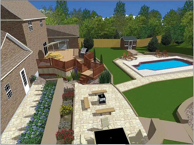 FRANZIS 3D Gartenplaner 2010