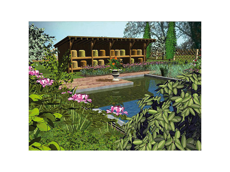 franzis 3d gartenplaner 2010. Black Bedroom Furniture Sets. Home Design Ideas