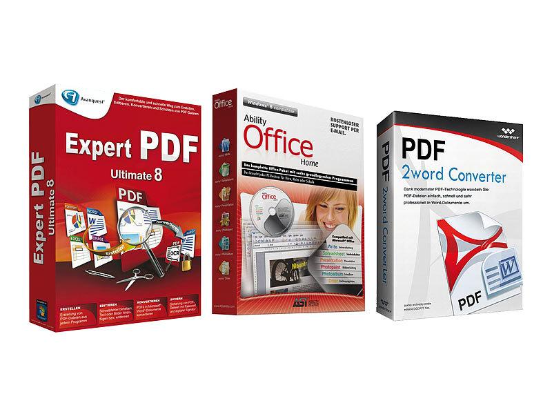 pdf office suite 2013 inkl expert pdf 8 ultimate. Black Bedroom Furniture Sets. Home Design Ideas