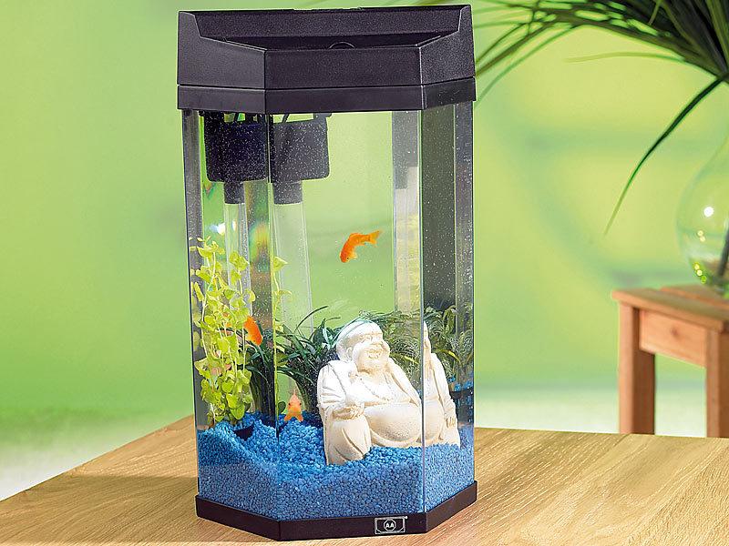 infactory kleines aquarium s ulen panorama aquarium neptun im komplett set 7 liter. Black Bedroom Furniture Sets. Home Design Ideas