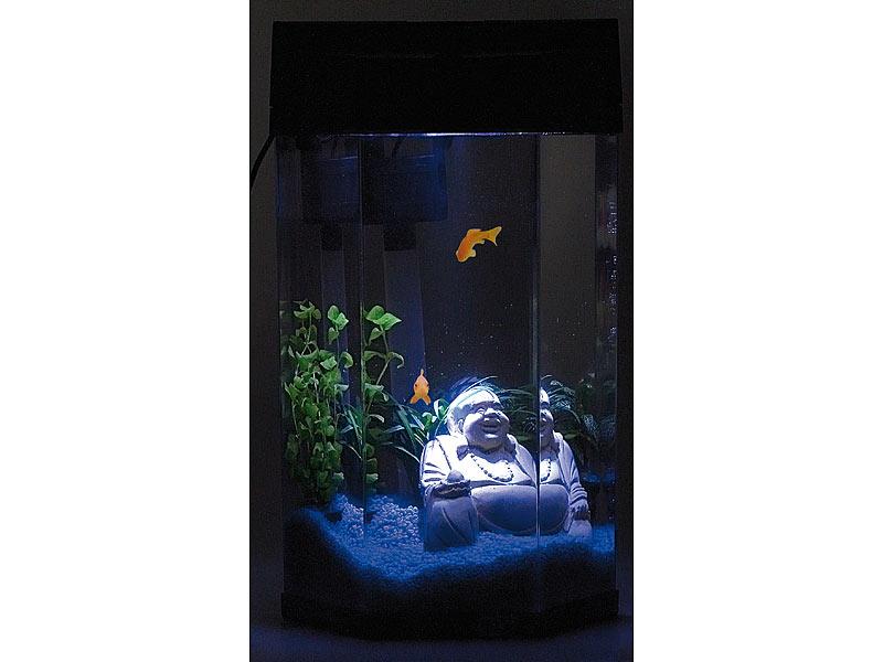 Brandneu Aquarium Panorama - Neptun 7 Liter bei PEARL KC18
