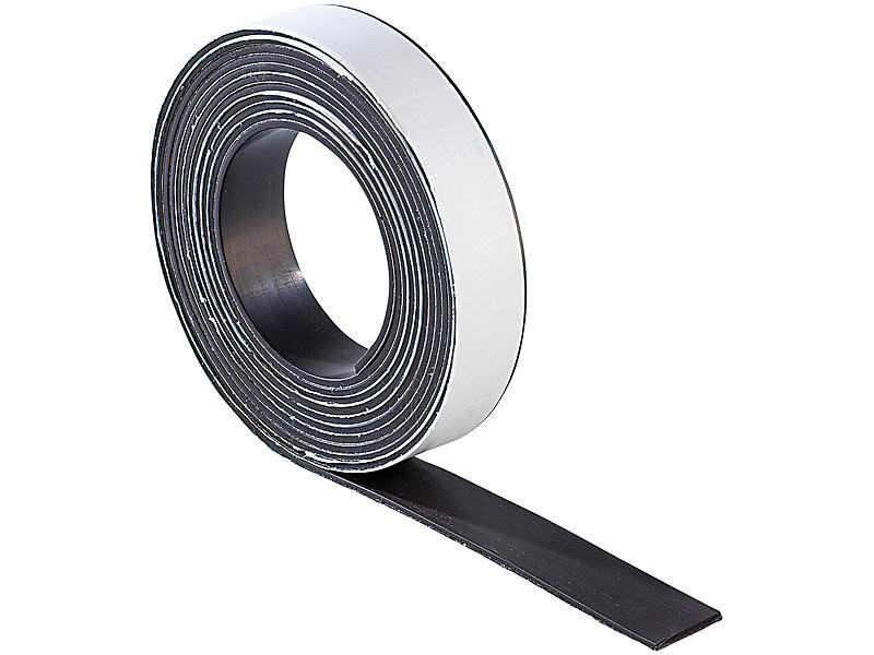 your design magnetleiste zum kleben ultrapraktisches magnet klebeband 3 meter magnetstreifen. Black Bedroom Furniture Sets. Home Design Ideas