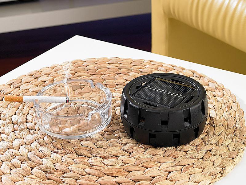 infactory solar luftreiniger ionisator gegen keime ger che u v m. Black Bedroom Furniture Sets. Home Design Ideas