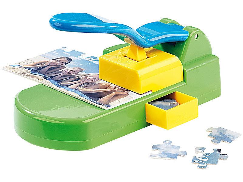 your design puzzle-stanzer inkl. 10 selbstklebende basis-kartons 10x15, Einladung