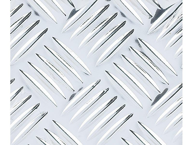Infactory klebefolie quintett riffelblech selbstklebend for Klebefolie metall