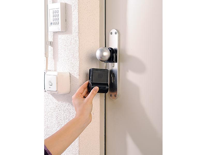 infactory t rklinke mit zahlencode b gel schl ssel safe. Black Bedroom Furniture Sets. Home Design Ideas