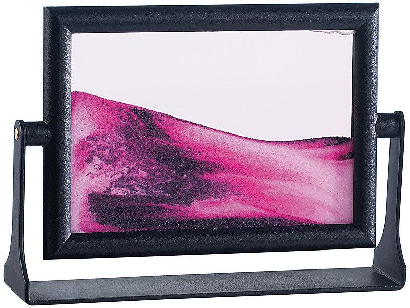infactory Sandbild Bilderrahmen: Mini-Sandbild \