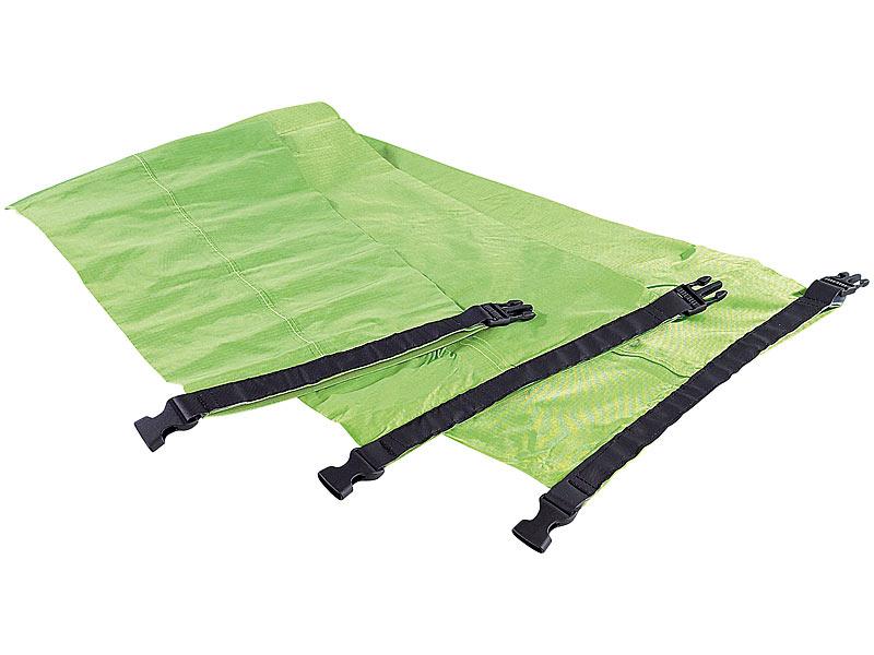 xcase wasserdichte nylon packtaschen drybags 3er set 1 4 8 liter. Black Bedroom Furniture Sets. Home Design Ideas