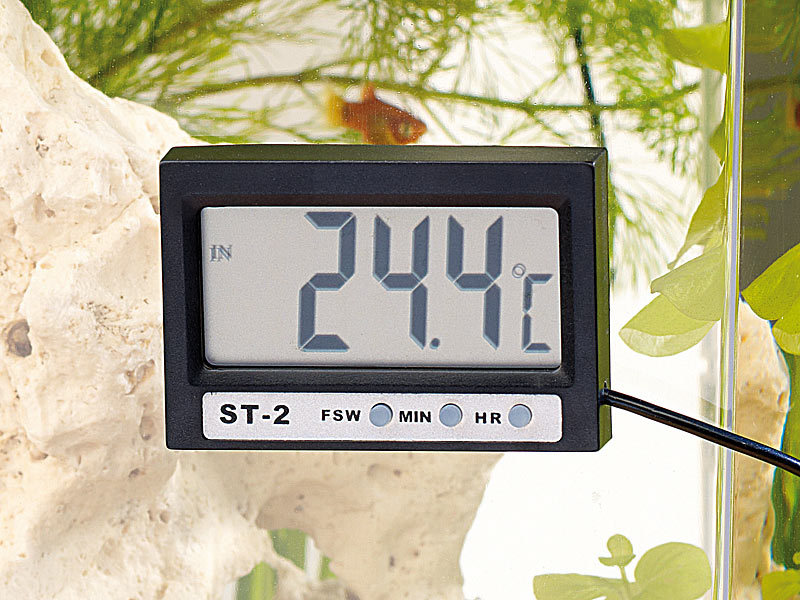 infactory wasserthermometer digitales aquariums. Black Bedroom Furniture Sets. Home Design Ideas