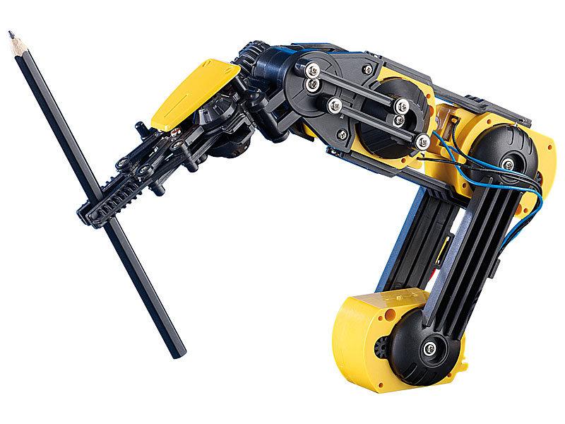 playtastic roboterarm baukasten roboter arm roboterarm selber bauen. Black Bedroom Furniture Sets. Home Design Ideas