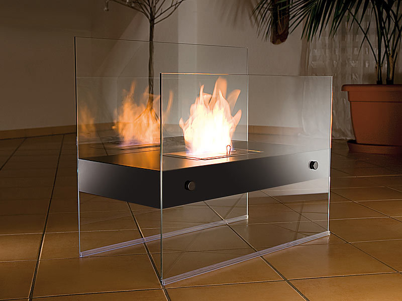 carlo milano ethanol kamin lounge feuer avantgarde f r bio ethanol bioethanol stand kamine. Black Bedroom Furniture Sets. Home Design Ideas