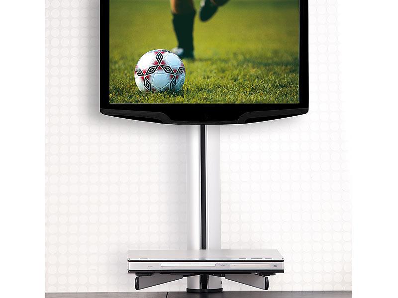 dream audio universal tv hifi rack f r wandmontage. Black Bedroom Furniture Sets. Home Design Ideas