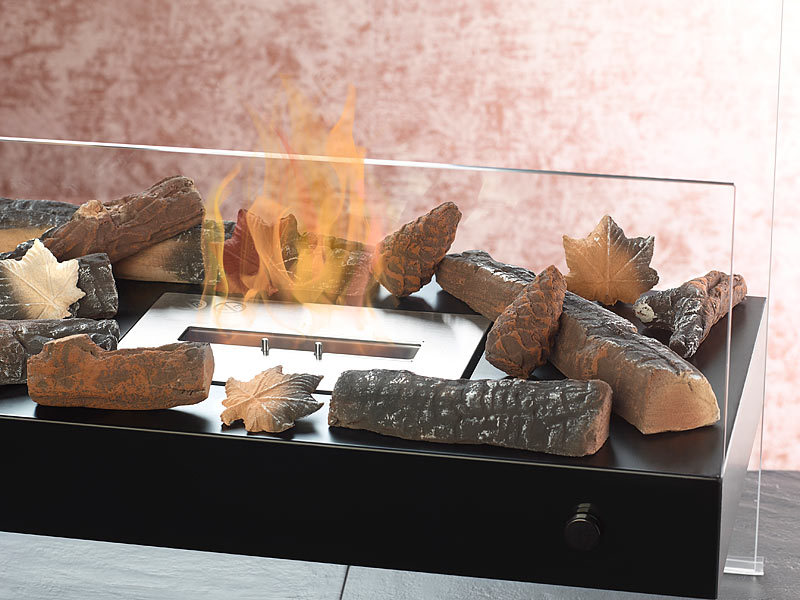 carlo milano keramik dekoration f r bio ethanol fen komplettset. Black Bedroom Furniture Sets. Home Design Ideas