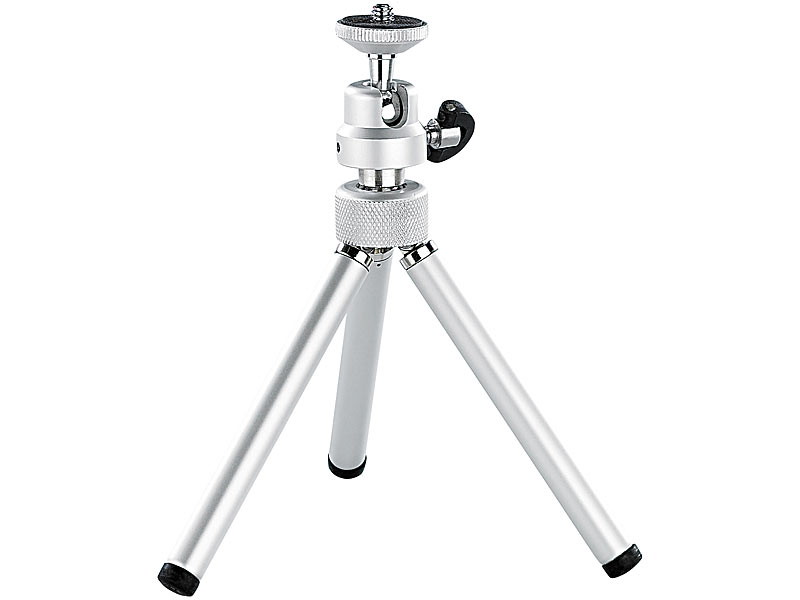 somikon mini teleskop stativ aus aluminium. Black Bedroom Furniture Sets. Home Design Ideas