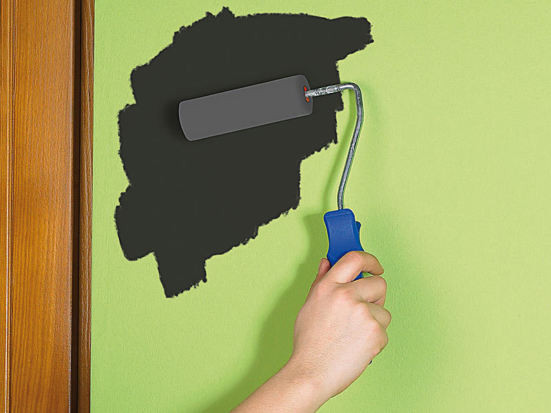 infactory tafellack streichbare tafelfarbe f r mit kreide beschriftbare w nde 200 ml. Black Bedroom Furniture Sets. Home Design Ideas