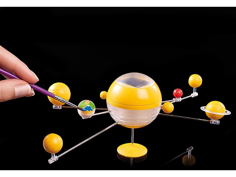 playtastic modell sonnensystem bausatz mit motor solarantrieb. Black Bedroom Furniture Sets. Home Design Ideas