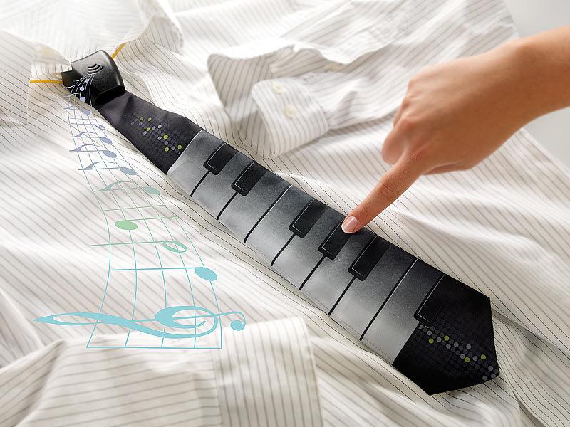 Playtastic Party-Kostüm-Zubehöre: Klavier-Krawatte (Kostümpartys)