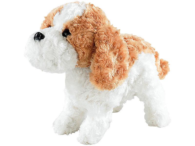 Playtastic hund plüsch funktionshund mit akustik