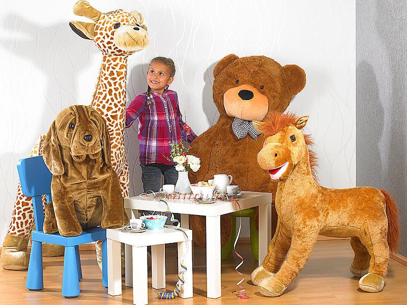 playtastic aufblasbares riesenpl schtier paul der kleine hund 80cm. Black Bedroom Furniture Sets. Home Design Ideas