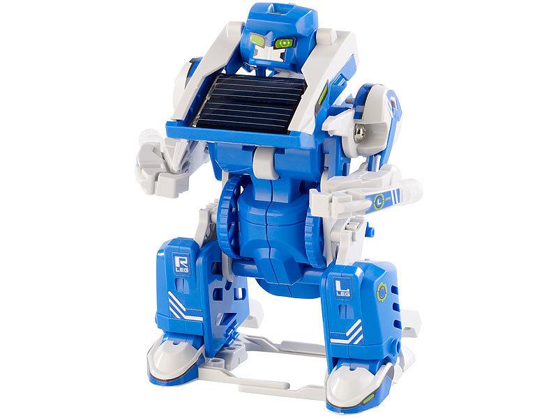 playtastic solarbausatz baukasten f r 3 transformierbare solar roboter roboter solar bausatz. Black Bedroom Furniture Sets. Home Design Ideas