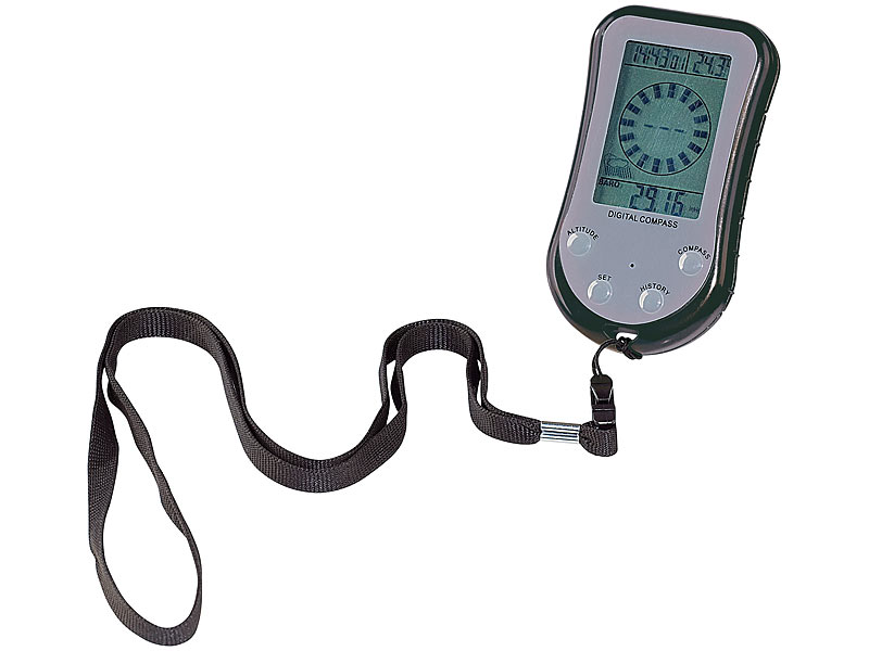 Entfernungsmesser Höhenmesser : Semptec digitaler in kompass mit höhenmesser mobiler wetterstation