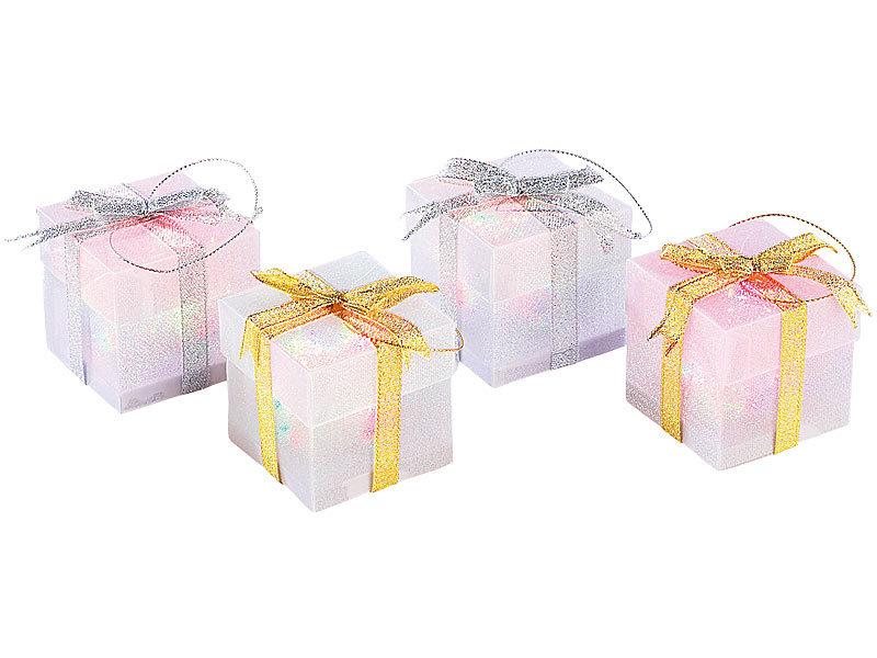 lunartec led weihnachts geschenk schmuck 16er set. Black Bedroom Furniture Sets. Home Design Ideas
