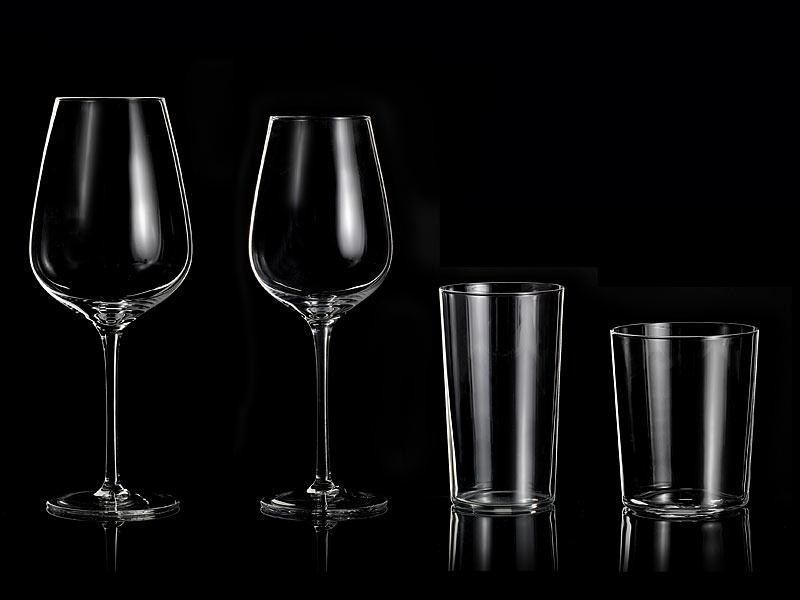 rosenstein s hne gl serset mundgeblasene unikat gl ser 24 teiliges set mundegeblasenes glas. Black Bedroom Furniture Sets. Home Design Ideas