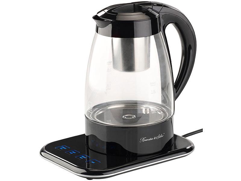 Wasserkocher Usb = Rosenstein & Söhne Vollautomatischer Wasserkocher und