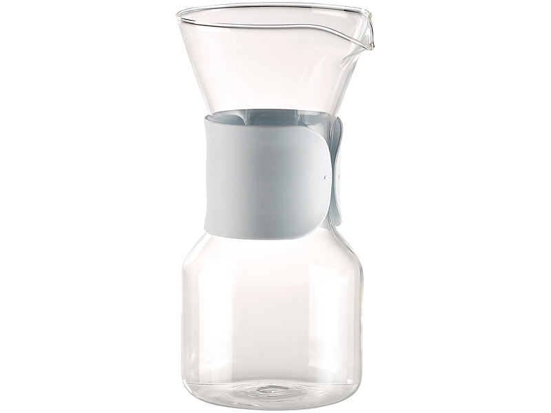 Kaffeefilter Edelstahl cucina di modena kaffeekanne glas kaffeebereiter mit edelstahl