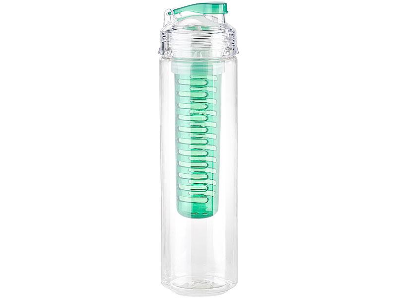 Rosenstein & Söhne Trinkflasche, Wasserflasche mit ...