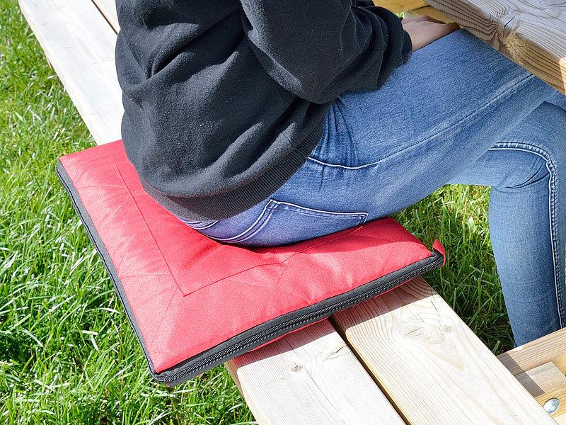 pearl picknickdecke mit kissen 3in1 picknickdecke mit sitzkissen und zudecke waschbar 180 x. Black Bedroom Furniture Sets. Home Design Ideas