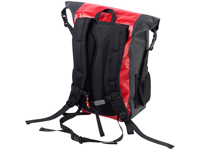 20d7e5d17af6a ... Semptec Urban Survival Technology Wasserdichter Trekking-Rucksack aus  LKW-Plane
