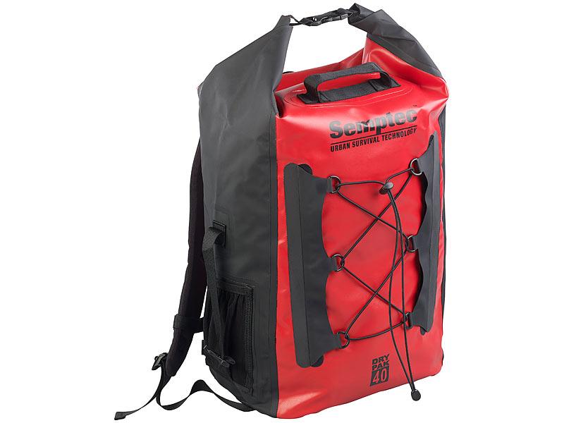 semptec dry bag wasserdichter trekking rucksack aus lkw. Black Bedroom Furniture Sets. Home Design Ideas
