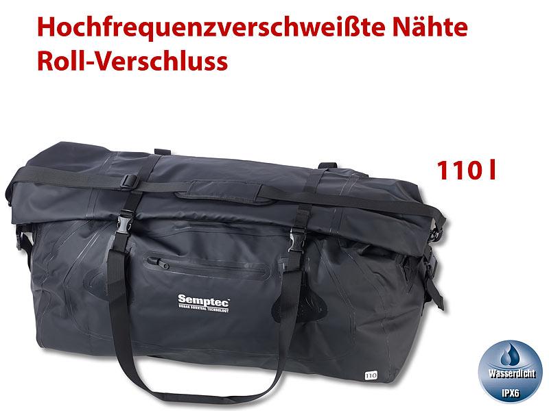 cb8b6ab9b05ee Semptec Tasche  Wasserdichte XXL-Profi-Outdoor- und Reisetasche aus  Lkw-Plane