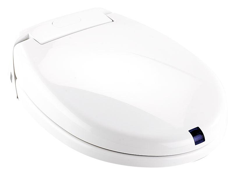 infactory wc deckel automatischer wc sitz mit bewegungssensor soft absenken toilettensitz. Black Bedroom Furniture Sets. Home Design Ideas